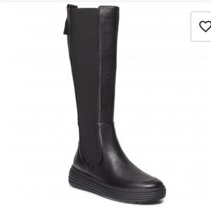 Geox Leather Knee High Boots Size 6 NEW